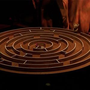 Labyrinthe magnétique