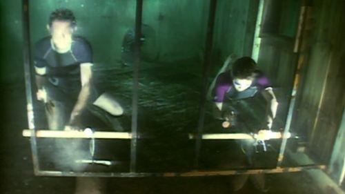 épreuve sous-marine
