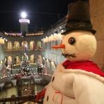 photo-Le fort décoré pour les fêtes de fin d'année