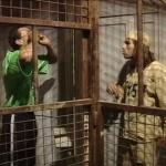 photo-Franck Merceron (à droite) dans l'épreuve des Prisonniers