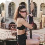 photo-Lady Boo dans l'épreuve des mats suspendus