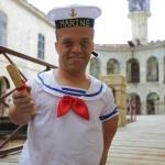 photo-Passe-Muraille s'est déguisé en marin.
