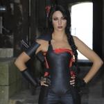 photo-Rouge, guerrière de la Cage