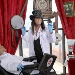 photo-Passe-Muraille chez son dentiste, le docteur Lalanne !