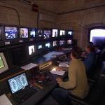 photo-La régie vidéos (cellule 015) en 2004.