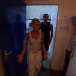 photo-La cafétéria (cellule 024) en 2004.