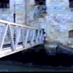 photo-La passerelle de la plateforme extérieure en 1994