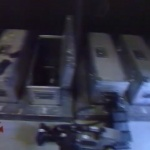 photo-La cellule de stockage du matériel de tournages (cellule 014) en 1993