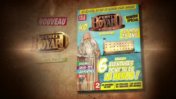 fort un nouveau fort boyard magazine en kiosque. Black Bedroom Furniture Sets. Home Design Ideas
