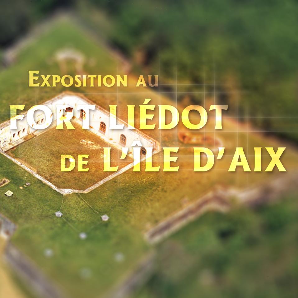 Exposition au fort Liédot de l'île d'Aix