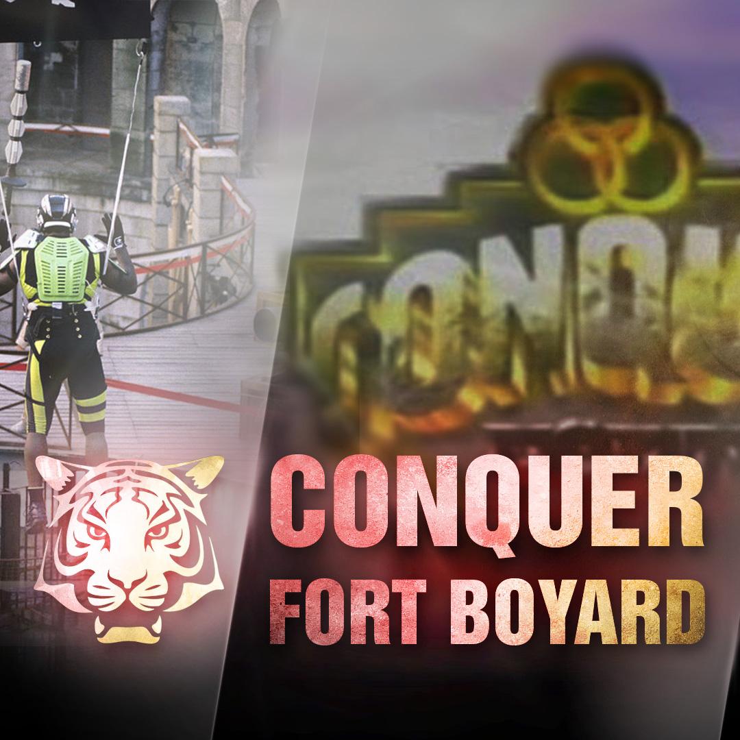 Conquer Fort Boyard : une émission à l'américaine