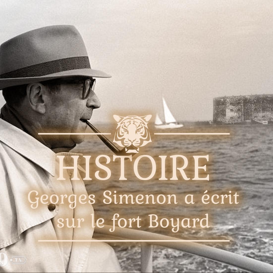 Quand Georges Simenon écrivait sur le fort Boyard